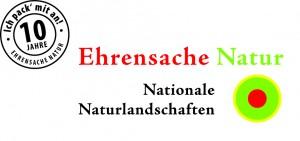 Logo Ehrensache Natur 10 Jahre