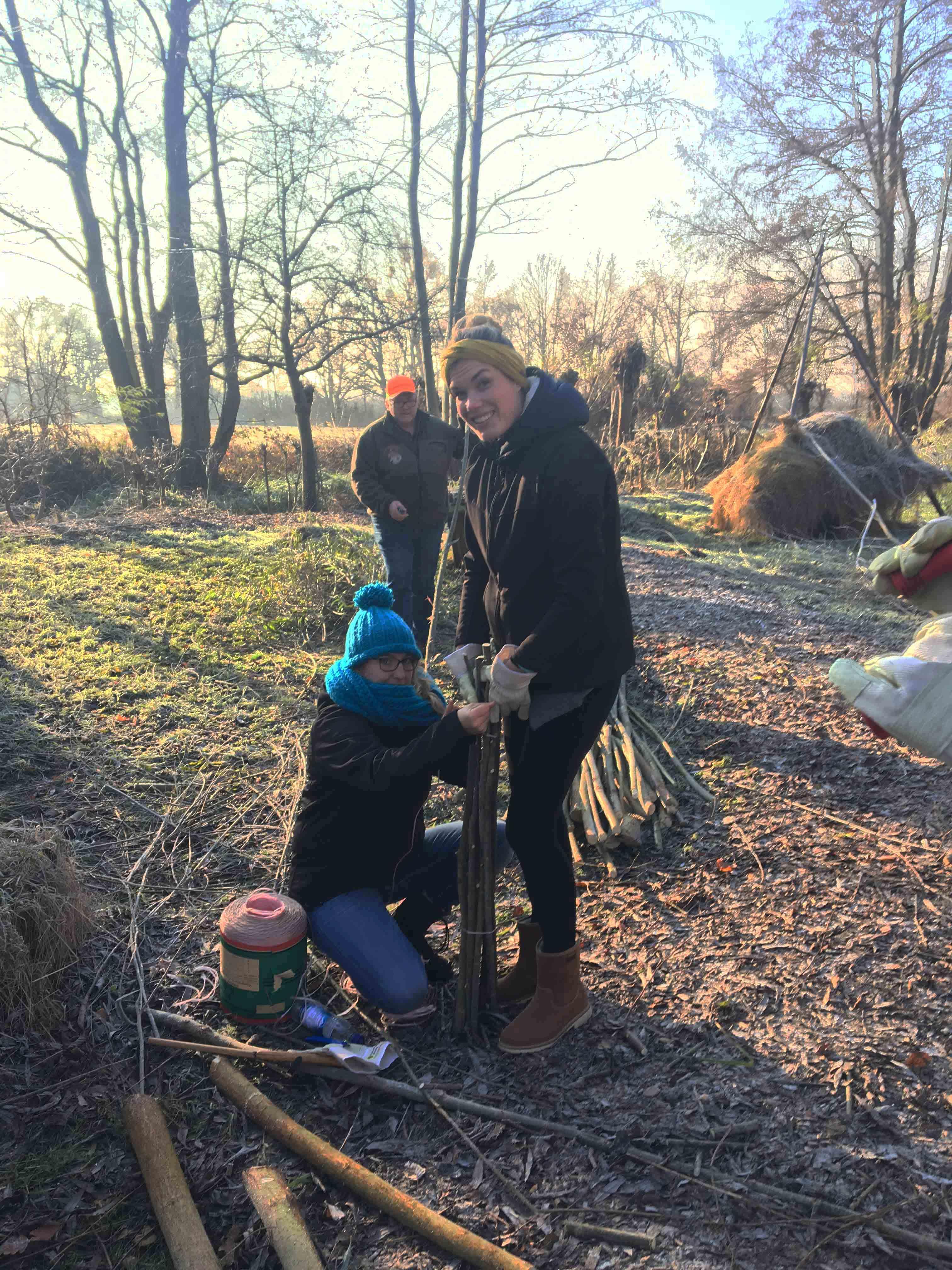 ehrensache natur  u2013 freiwillige in parks